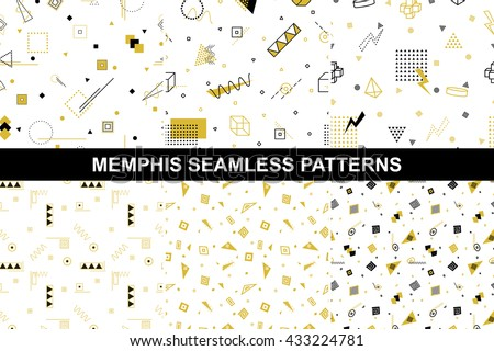 stock-vector-collection-of-retro-geometric-patterns-with-mosaic-shapes-seamless-backgrounds-retro-memphis