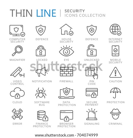 collection of security thin...