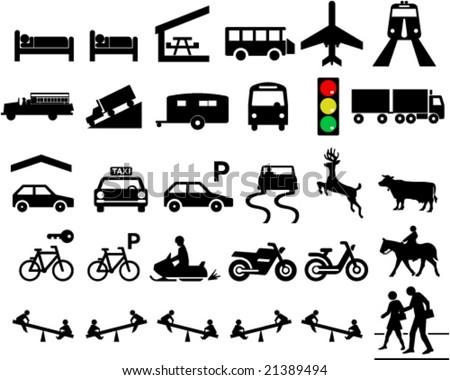 Road Signs And Symbols Symbols For Road Signs