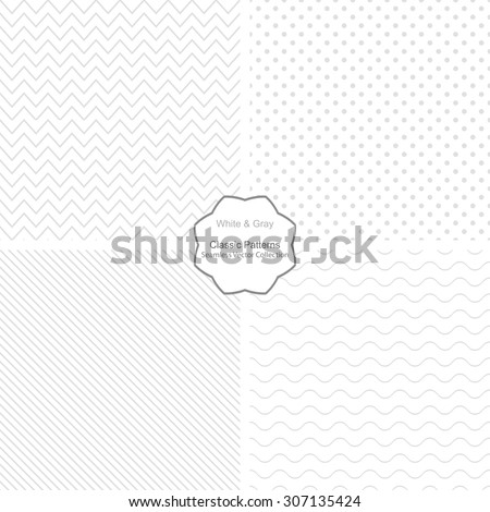 collection of simple vector