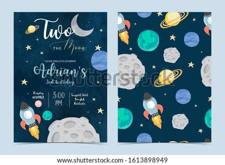collection of space background