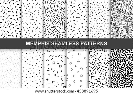 collection of swatches memphis
