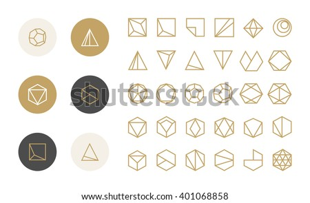 collection of thin 30 icons and