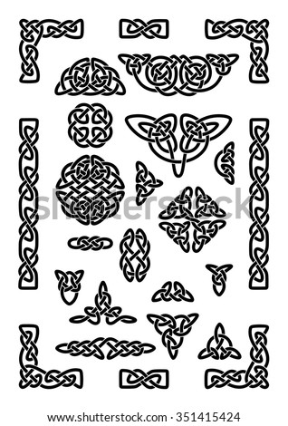 collection of various celtic