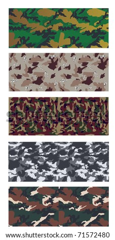 collection of various patterns