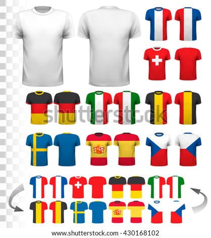 collection of various soccer
