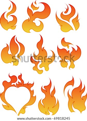 collection of vector fires
