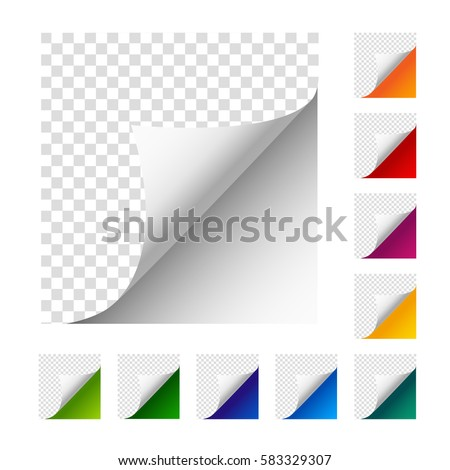 collection of vector paper