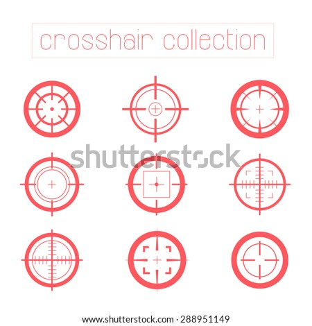 collection of vector targets