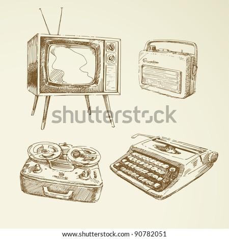collection of vintage design