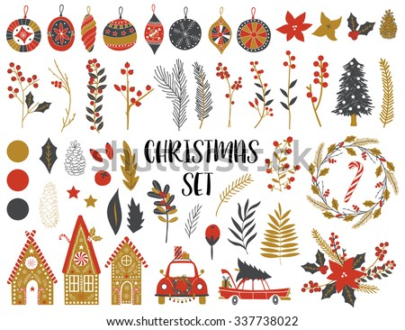 Christmas Stickers Download Free Vector Art Stock Graphics Images