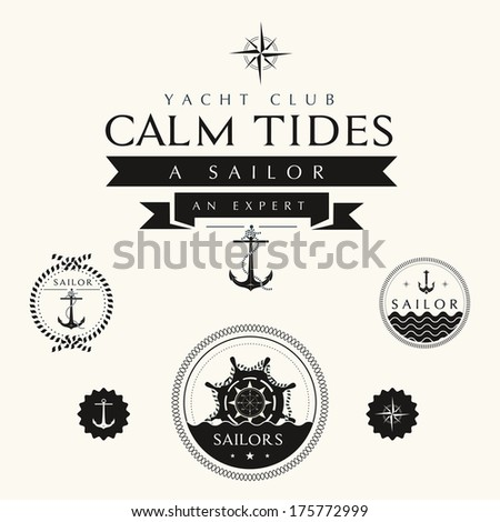 collection of vintage nautical