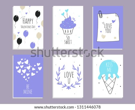 f29cd0994cb Cute Hearts Collection To Valentine s Day - Download Free Vector Art ...