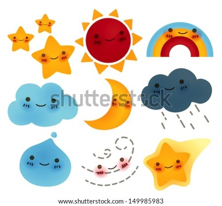 collection of  weather icon