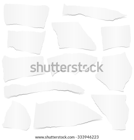 collection of white colored