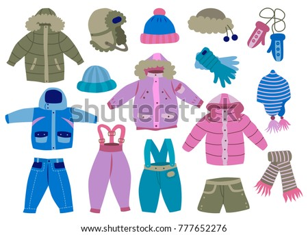 collection of winter children's