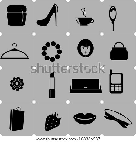 Collection Of Woman Stuff