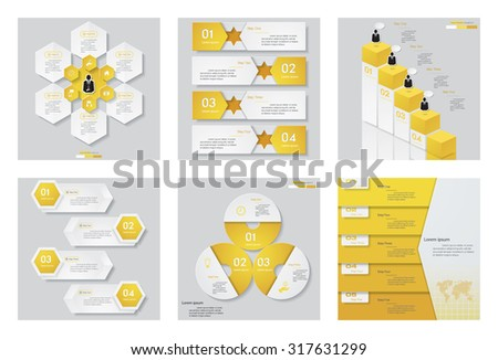 collection of 6 yellow color