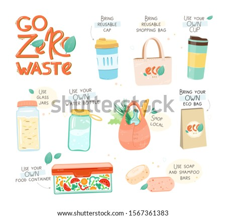 collection of zero waste