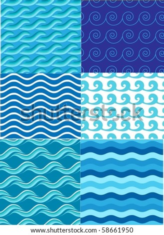 collection patterns of marine