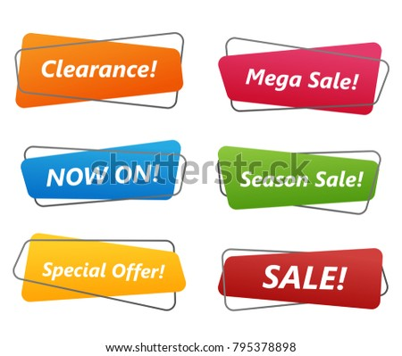 Collection sale banner #795378898