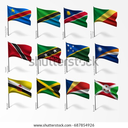 collection set of flags of