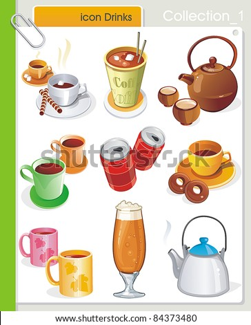 collection_1 vector drink icons