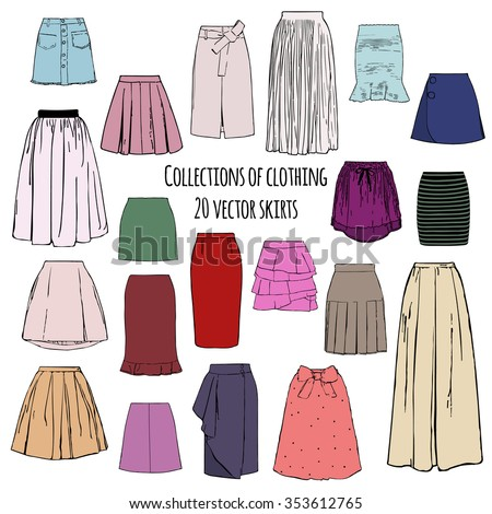 collections of clothing  twenty