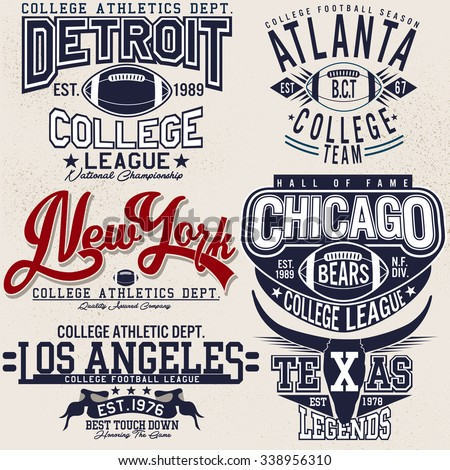 college football logo sets,college graphics for t-shirt