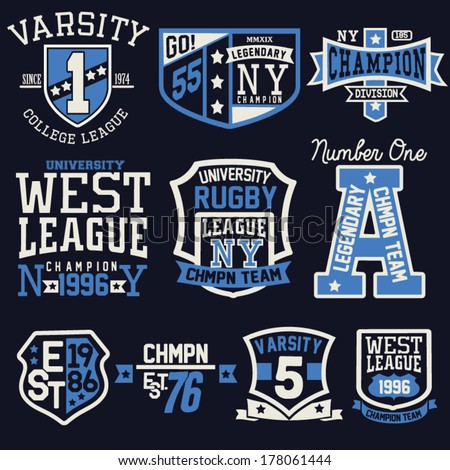 College T Shirt Designs | Vector Images Illustrations And Cliparts College Graphic Design