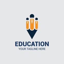 College Logo icon design, Education and School. vector illustration