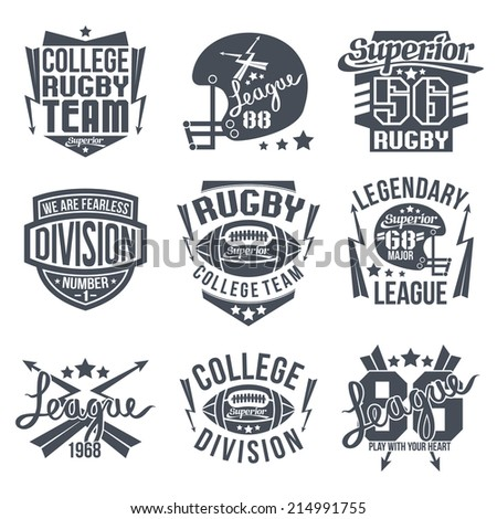 College Shirt Design Design For T-shirt Black