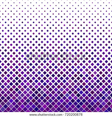 Color abstract diagonal square pattern background - geometrical vector illustration from dark purple squares