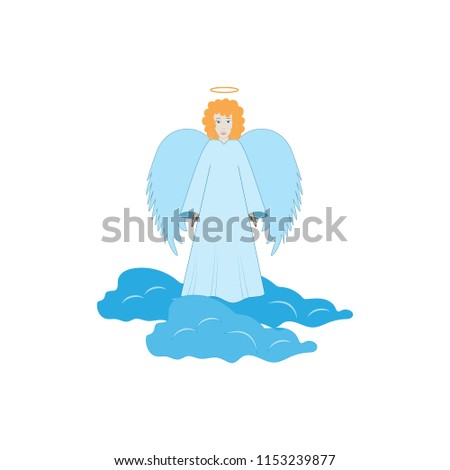 color angel silhouette....