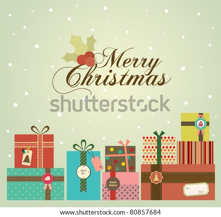 color background with christmas