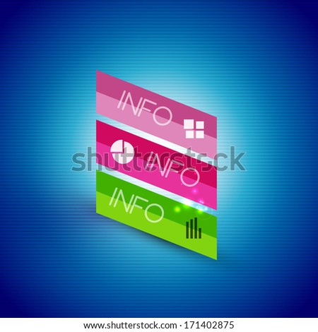 stock-vector-color-bright-glossy-lines-banner-templates-for-business-background-numbered-banners-business