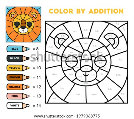 color by addition  education