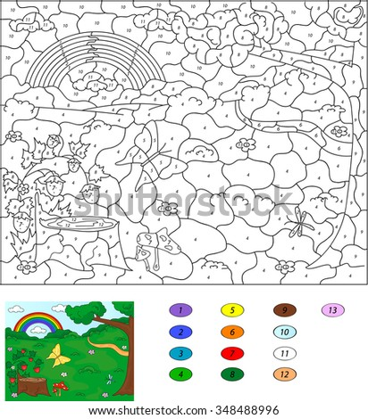 color by number educational