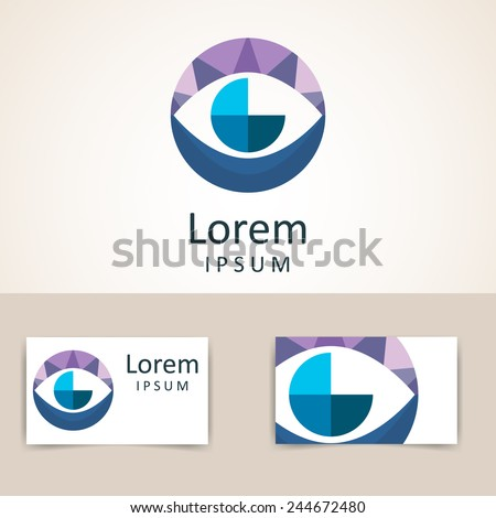 color circle logo template