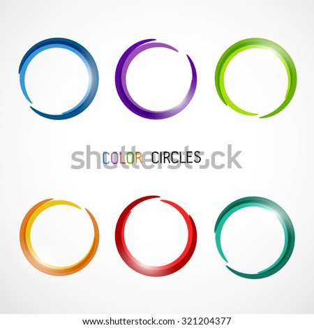 Color circles set
