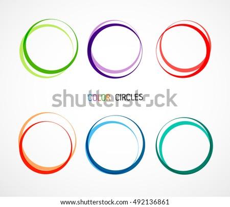 Color circles set