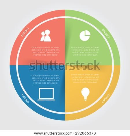 color circular chart