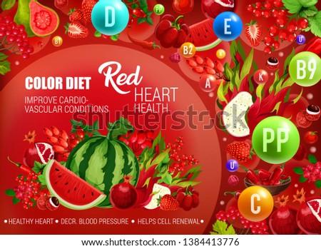 color diet healthy nutrition