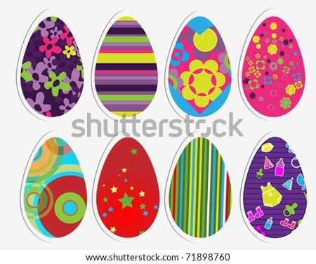 Color eggs set #71898760