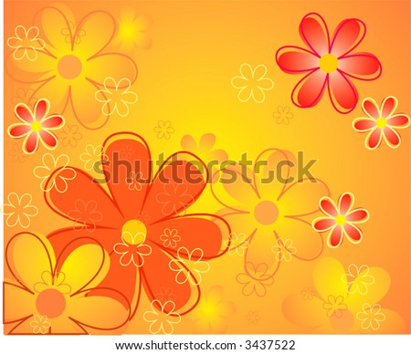 flower pink background vector art free graphics all vectors