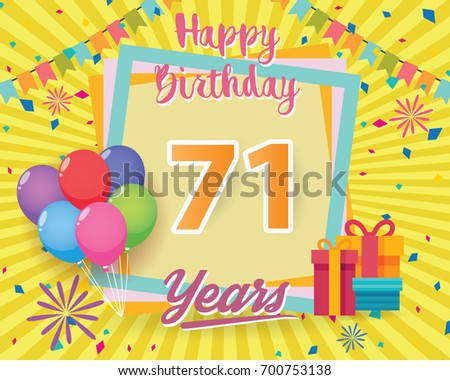 Vector Illustration of 1st Birthday Card Download Free Vector – Vector Birthday Cards