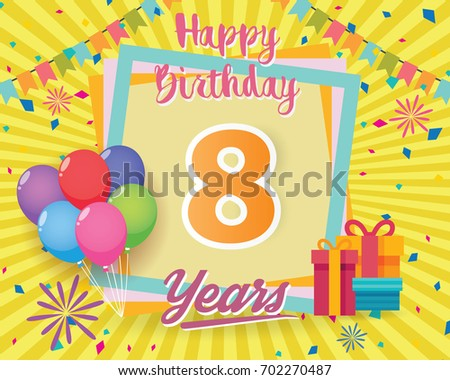 Free Birthday Party 18 Years Vector Download Free Vector Art