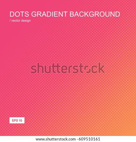 color gradient halftone