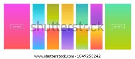 color gradient modern