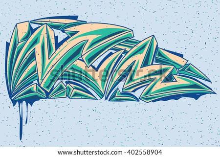 color graffiti arrows